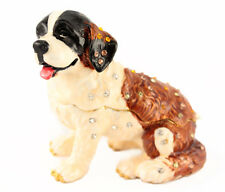 Dog Puppy Jewelry Trinket Box Animal Decorative Collectible Pet Cute Gift 02062A