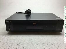 Sony Disc CD DVD Player DVP-S7700 - Tested Working - Fair Condition - No Accesso