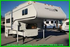 2001 Fleetwood Elkhorn 10W Slide In Truck Camper 3/4 Ton Long Bed Used RV