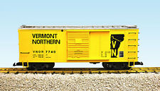 USA Trains G Scale R19112A Vermont Northern #7739 – Yellow/Silver NEW RELEASE
