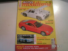** Auto Modélisme n°88 Matra 630 - 650 / ferrari 612 Scaglietti / Ferrari P3