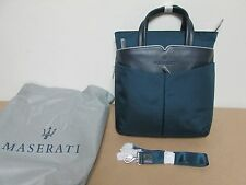 Maserati Nylon - Leather Carry All Case / Bag  - NEW - # 920004202