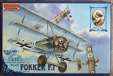 TOKO 1/72 FOKKER F.I TRIPLANE WWI plastic model fighter aircraft kit OOP