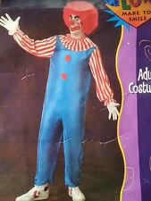 CARNIVAL CIRCUS CLOWN JESTER UNISEX MENS WOMENS FANCY DRESS HALLOWEEN COSTUME