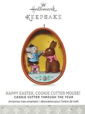 Hallmark 2017 Happy Easter, Cookie Cutter Mouse! Ornament 3rd in the Series