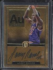LARRY NANCE 2015-16 GOLD STANDARD PERIODIC TABLE ELEMENTS ON CARD AUTO #D 48/79
