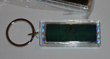 2 x LEXUS (CARS) LOGO FLASHING SOLAR POWER NOVELTY KEYRING KEY RING FOB NEW