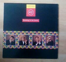 LEVEL 42 Vinyl LP Running In The Family  (Incl Lessons In Love) EX+