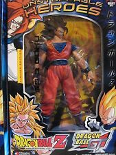 "2004 LIMITED EDITION UNSTOPPABLE HEROES DRAGON BALL Z 9"" SS3 GOKU ACTION FIGURE"