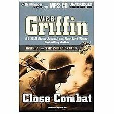 CLOSE COMBAT (CORPS Series) unabridged audio book on MP3 CD by W.E.B. GRIFFIN