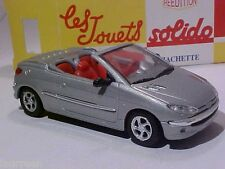 Peugeot 206CC 2002 Solido 1/43 Diecast Mint in Numbered Box