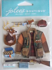 JOLEE'S BOUTIQUE 3D STICKERS - HUNTING hunter