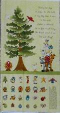 COUNTRY QUILTING FABRIC - *The Kings Arrival Xmas Advent Calendar Panel  60 x110