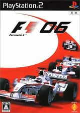 Used PS2 F1 Formula One 2006 SONY PLAYSTATION JAPAN IMPORT