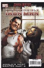 INVINCIBLE IRON MAN #15 / WORLD'S MOST WANTED PART 8 / DARK REIGN / 2009