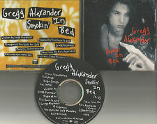 New Radicals GREGG ALEXANDER Smokin In Bed 1992 USA PROMO DJ CD Single MINT greg