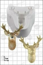 Silicone mould Stag's Head | Food Use FPC Sugarcraft FREE UK shipping!
