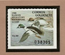 IL14 - Illinois State Duck Stamp. MNH. OG.