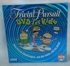 TRIVIAL PURSUIT DVD FOR KIDS Game Season One ages 8-12 NEW Unopened