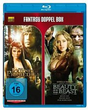 2 Fantasyfilme Blu-Ray - Journey to Promethea & Beauty and the Beast NEU OVP