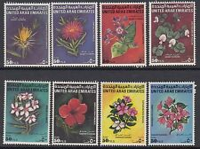 UAE : 1990 Flowers set SG 312-9 MNH