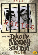 Take The Money And Run (Woody Allen, 1969) DVD, NEW