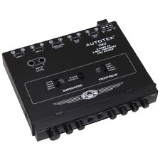 NEW Autotek 7007 Half-din 4-band 2-way Equalizer/crossover