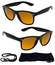 HD Driving Wayfarer SunGlasses Golf Vision Blue Blocker Lens High Definition NEW