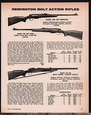 1978 REMINGTON Model 788 Clip Repeater & Left Hand, 700 BDL Bolt Act Rifle AD