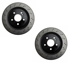Mercedes W211 W219 E55 E63 CLS55 CLS63 Disc Brake Rotor Rear OPparts Set of 2
