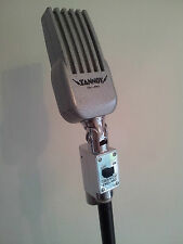 Vintage 1950's Tannoy Ribbon Microphone Mic.Perfect Working Condition