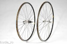Vintage Tubular Ambrosio Excellence Wheelset With Shimano Ultegra 6500 Hubs 32H