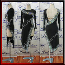 LATIN RHYTHM SALSA BALLROOM COMPETITION DANCE DRESS (LT1041)