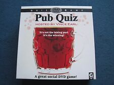 DVD Pub Quiz Game - Age 14+ for 2 + players - 12 games over 12 trivia rounds-VGC