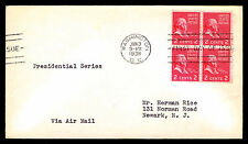 1938 U.S. #806 FIRST DAY COVER - JOHN ADAMS 2c. - VF (ESP#3591)