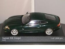 MINICHAMPS 400130502 JAGUAR XK COUPE 2005 CAR LIMITED EDITION GREEN 1:43 NEW