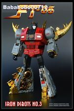 New FanToys Transformers FT-06 Sever G1 MP Masterpiece Iron Dinobots instock