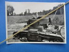 Foto Ostfront russischer Panzer  abgeschossen /erbeutet