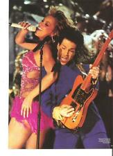 PRINCE and Beyonce magazine PHOTO / mini Poster 11x8 inches