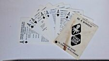 vintage 1977 GTA 30-1-23 SOLDIERS GUIDE TO COMBAT INTELLIGENCE FIELD CARD ARMY