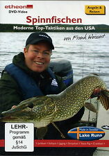 DVD VIDEO SPIN FISHING TOP TAKTIKEN FROM THE USA SALE PRICE REDUCED