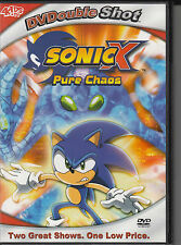 SONIC X ~ PURE CHAOS & A CHAOTIC DAY DVDOUBLESHOT DVD LN