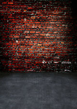 Brick Wall Studio Vinyl Floor Photography Backdrops Prop Photo Background 5x7FT