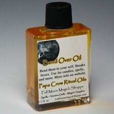 Bend Over Oil Anoint Candles Use Spells Wicca Voodoo Full Moon Control Magick