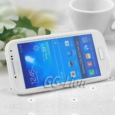 cw.Stand TPU Gel Silicone Case Skin Cover for Samsung Galaxy S4 mini,GT- i9195