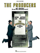 The Producers Mel Brooks Vocal Selections Learn to Play PIANO PVG Music Book