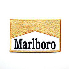 Marlboro Gold Sports Racing Team Motorcycle Car Bike Shirt Jacket Iron on Patch
