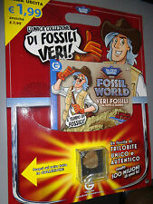 FOSSIL WORLD N°1 FASCICOLO + TRILOBITE DR. STEVE HUNTERS  GEOWORLD
