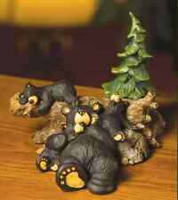 Big Sky Carvers Bearfoots Naptime Figurine by Jeff Fleming Demdaco #30150109