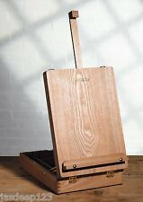 Winsor and Newton Medway Table Box Easel Artist Craft with Integrated Wooden Box